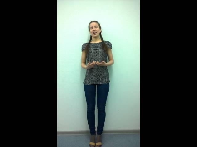 Изображение предпросмотра прочтения – АнастасияИванова читает произведение «Сонет № 23. Как тот актер, который, оробев…» У.Шекспира
