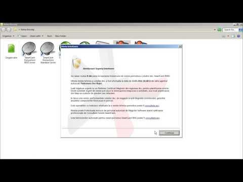Utilizarea serviciului OpenApi ro in platforma SmartCash RMS