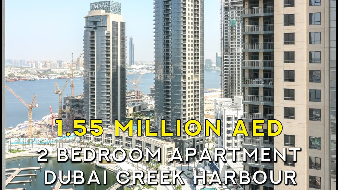 2 Bedroom Apartment in Dubai Creek Residence For Sale ...