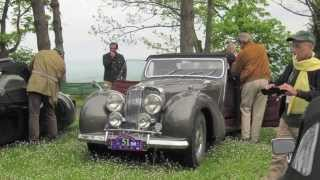 British Day in Italy - CLASSIC JAGUAR ,TRIUMPH and MG. thumbnail