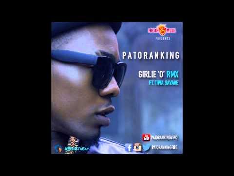 Patoranking  - Girlie O Remix Ft. Tiwa Savage (OFFICIAL AUDIO 2014)