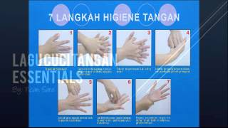 Lagu Cuci Tangan 7 Langkah
