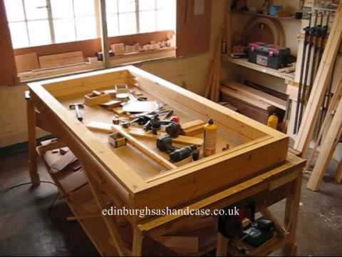 Manufacturing A Traditional Sash Window Casement Youtube