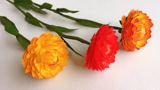ABC TV | How To Make Strawflower Paper Flower With Shape Punch - Craft Tutorial
