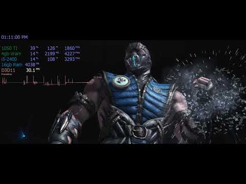 Mortal Kombat XL Pc   1080p    Gtx 1050 ti   i5-2400   16gb