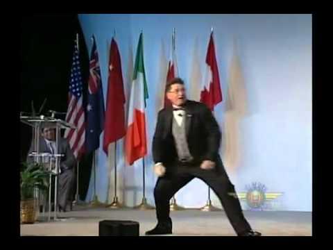 Toastmasters Public Speaking world champion 2004 1st place winner