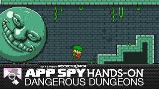 HARDCORE 2D PLATFORMING | Dangerous Dungeons previewed