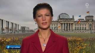 Sarah Wagenknecht: Es gibt kein UN Mandat für Bundeswehreinsatz in Syrien