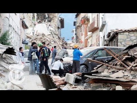 Earthquake Strikes in Amatrice, Italy | The New York Times