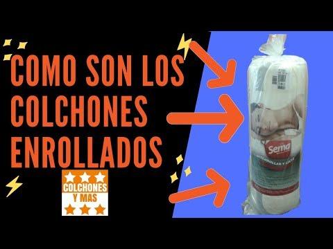 COMO SON LOS COLCHONES ENROLLADOS