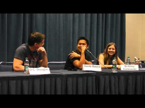Voice Acting v Live Acting at Metro 2013 with DC Douglas, Brittany Karbowski, and Dante Basco