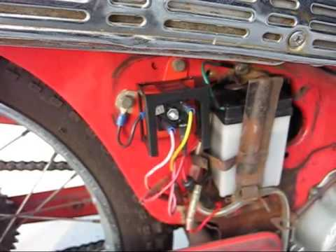 ct 90 rectifier upgrade youtube rh youtube com honda atc 90 wiring diagram honda md 90 wiring diagram