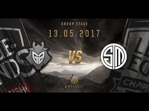 [13.05.2017] G2 vs TSM [MSI 2017][Group Stage]