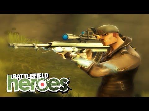 ZAMRAŻAJĄCA SNAJPERKA + TELEPORT   Battlefield Heroes