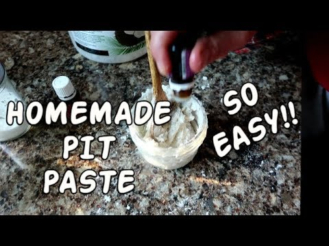 HOW TO MAKE DEODORANT ~ GET RID OF BODY ODOR NATURALLY
