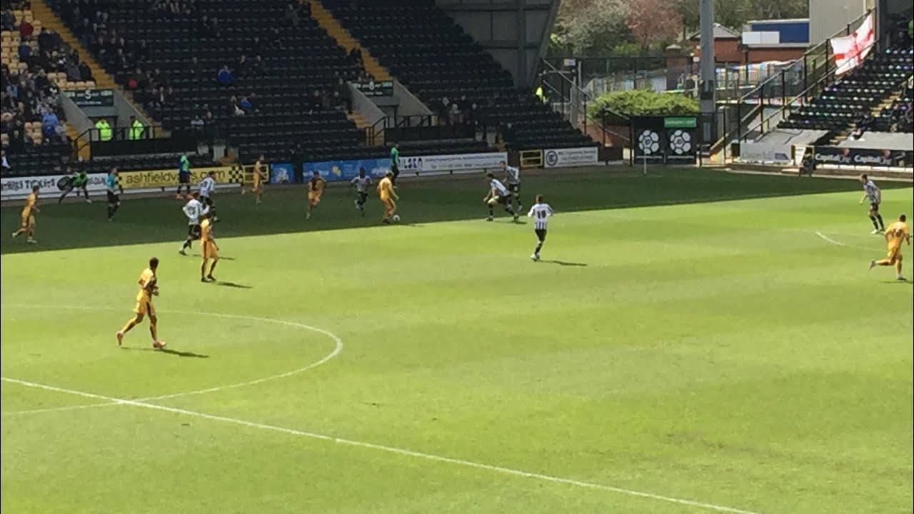 Notts county v Cambridge United 2015/16 season Fan Eye View - YouTube