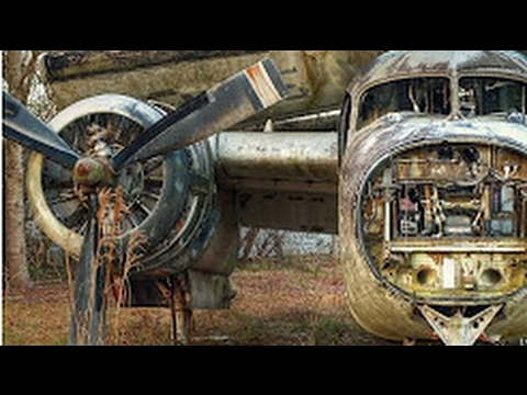 ABANDONED Military Aircraft at the Worlds Largest Military Aircraft Junk  Yard