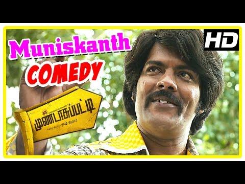 Mundasupatti Movie Scenes   Ramdoss Comedy   Vishnu and Kaali Venkat make fun of Ramdoss   Nandita