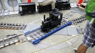 2019国際鉄道模型コンベンション 電動転車台