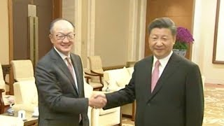 Chinese President meets with world leaders in Beijing