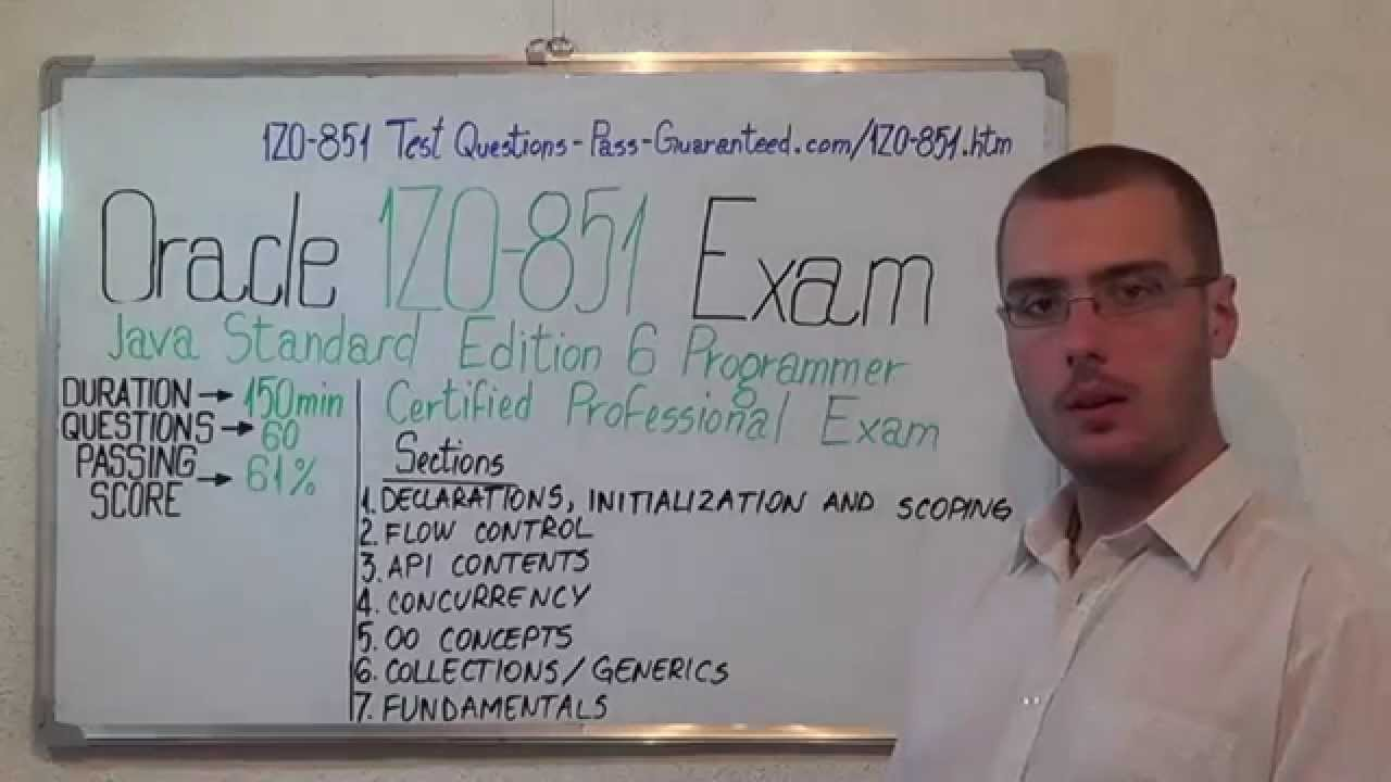 1z0 851 java exam standard edition test programmer questions 1z0 851 java exam standard edition test programmer questions 1betcityfo Image collections