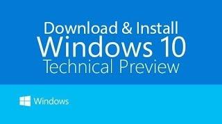 Windows 10 установка