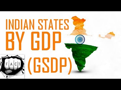 Top 10 Indian States By GDP (GSDP)
