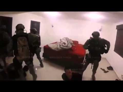 Cận cảnh thủy quân lục chiến vây bắt trùm ma túy Mexico El Chapo