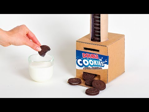 Card In - Cookie Out: How To Make OREO VENDING MACHINE