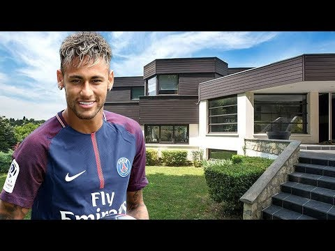 Neymar JR. House in Paris (Interior & Exterior) Inside Tour | 2018 NEW