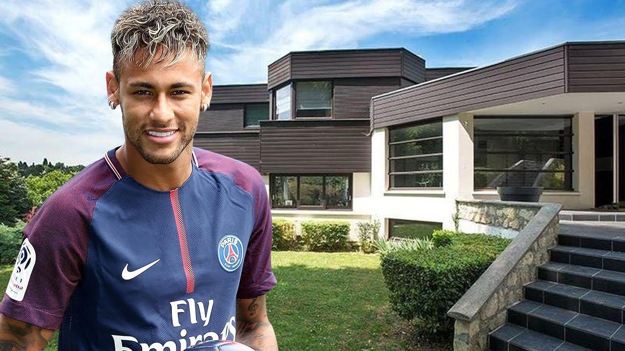 neymar jr house in paris interior exterior inside tour 2018 new youtube. Black Bedroom Furniture Sets. Home Design Ideas