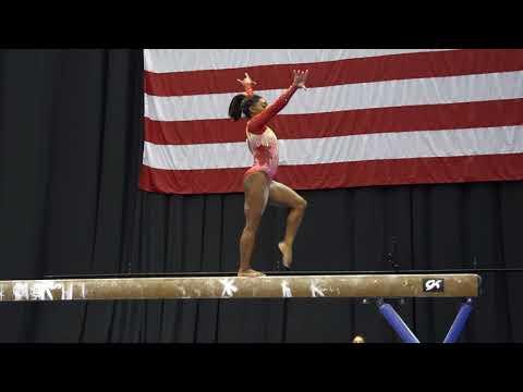 Simone Biles - Balance Beam - 2018 GK U.S. Classic - Senior Competition