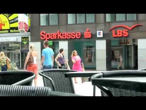 Saarbrücken Walters Eck 81 Die Bahnhofstraße im Sommer 2012