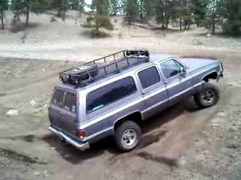 Chevy Suburban 4x4 Hill Climb Youtube