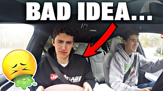 wisdom teeth revenge with tesla p90d vomit warning