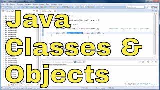 Java'da Sınıf Tanımlama ve Nesne Oluşturma Java Programlama Öğretici - 04 -
