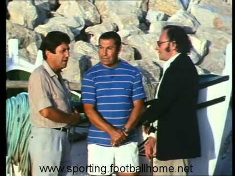 Travassos (ex-Sporting) e Palmeiro (ex-Benfica) - Documentário «O Nosso Futebol», 1984