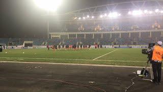 Live: U23 Việt Nam ra sân khởi động, sẵn sàng cho trận đánh lớn