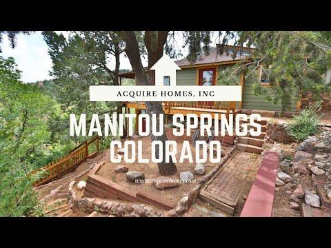 Manitou Springs Colorado Springs - YouTube