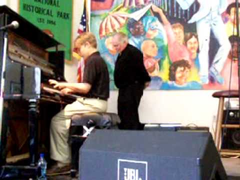 National Jazz Historical Park/ guest pianist Chris Abadie/ Maple Leaf Rag