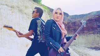 Hijaber nyanyi lagu Legend ROCK! Future World - Helloween (cover) | 3way Asiska