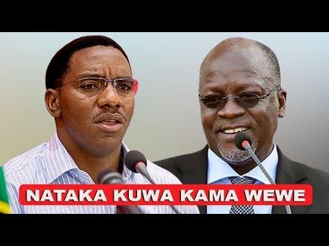 """MAKONDA AMWAMBIA JPM - """"Nikiwa Mkubwa Nataka Kuwa Wewe"""""""