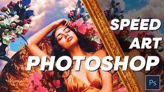 Photoshop CC - Portrait Art Speed Edit - Feat Krislian Rodriguez