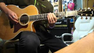 James Blunt - Wisemen Guitar acoustic solo cover