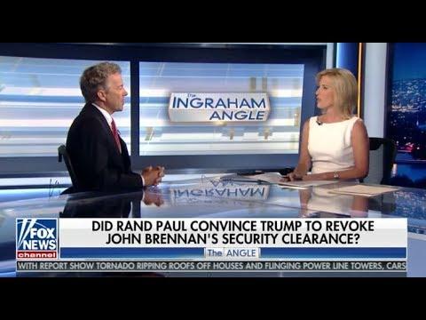 Sen. Rand Paul Discusses John Brennan and Engaging Russia
