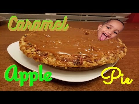 HOLIDAY SPECIAL/EP.1: Caramel Apple Pie (Pioneer Woman-Ree Drummond) Recipe w/Link!