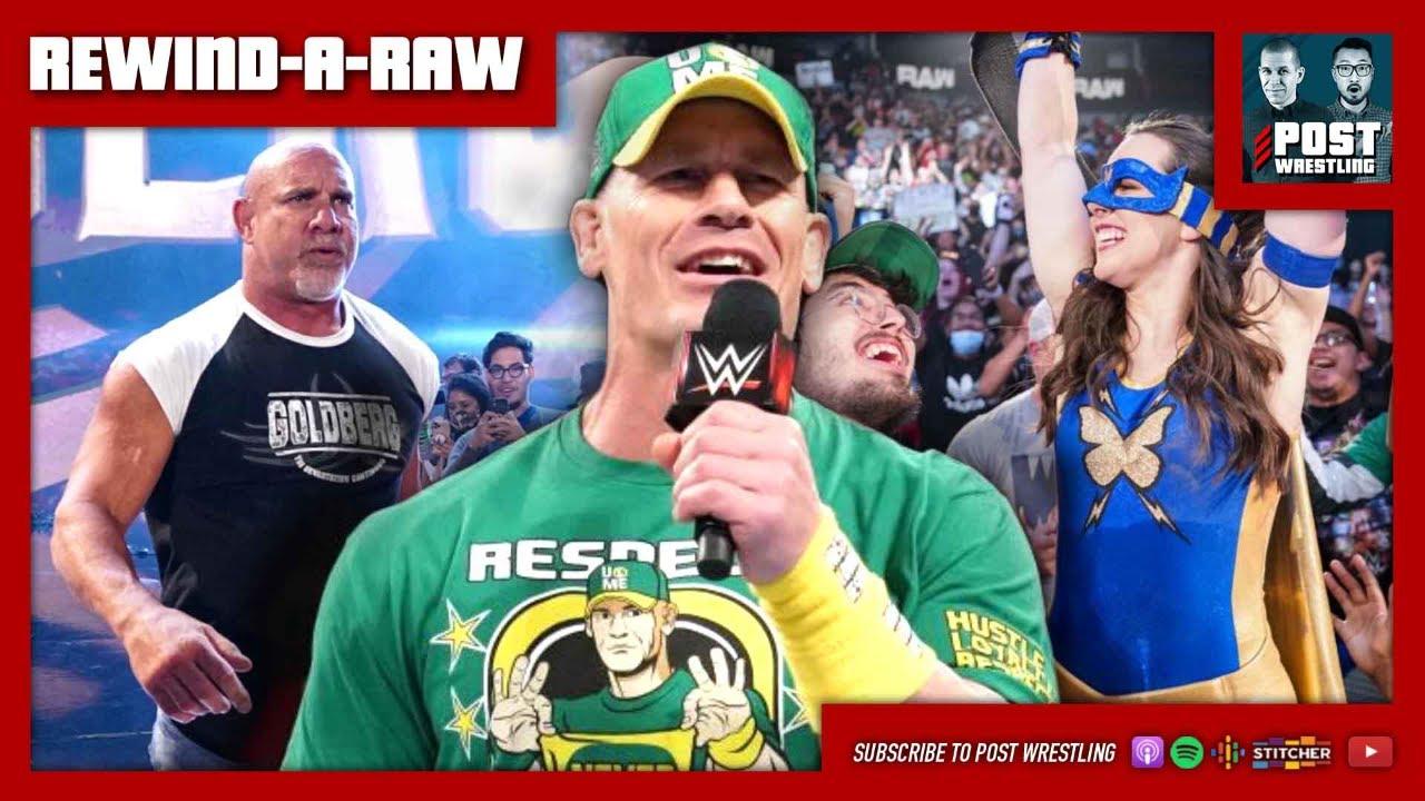 REWIND-A-RAW 7/19/21: Cena, Goldberg, Nikki ASH, Karrion Kross