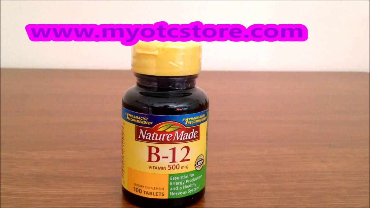f01ef36cf6b Myotcstore.com Review on Nature Made Vitamin B-12 500 Mcg Supplement  Tablets - 100 Ea