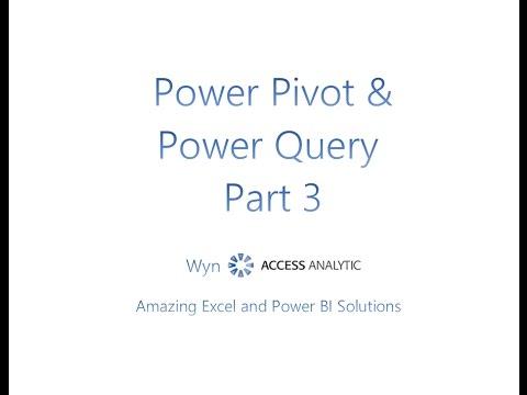 Introducing Power Pivot - Power Query (Get & Transform