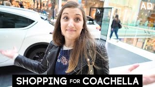 Shopping for Coachella with Alexia!
